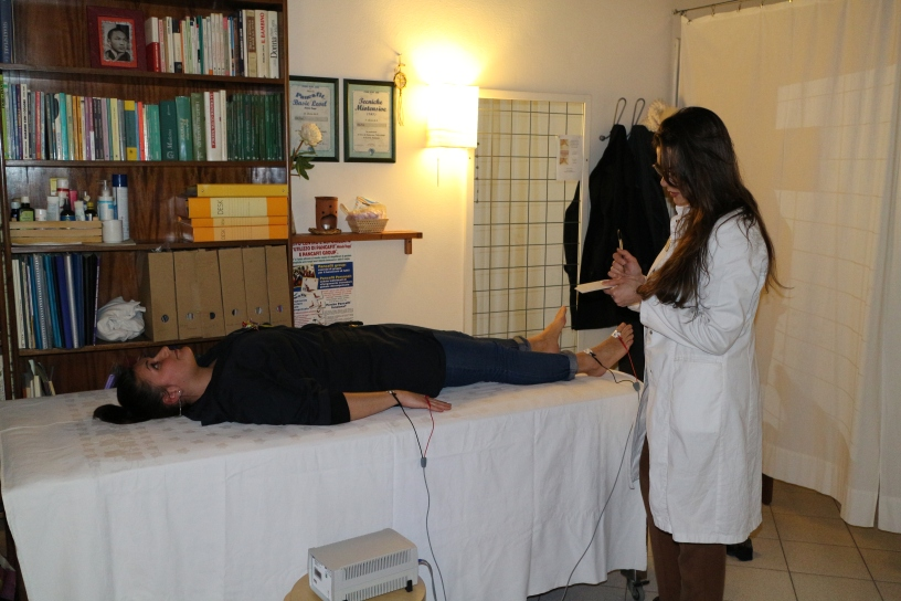 Valutazione di Impedenza e Reattanza corporea
